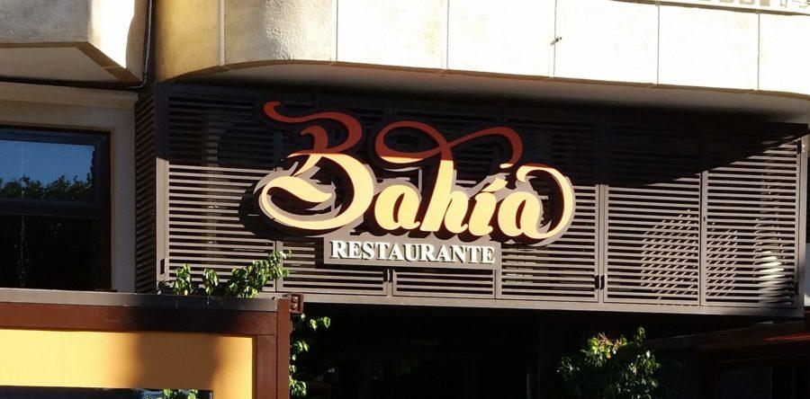 Cerramiento de terraza en el Restaurante Bahía